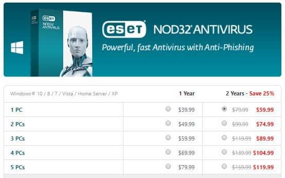 ESET NOD32 Antivirus Coupon