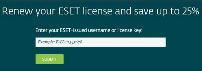 ESET Renewal Coupon