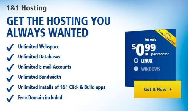 1and1 Hosting Coupon 2015