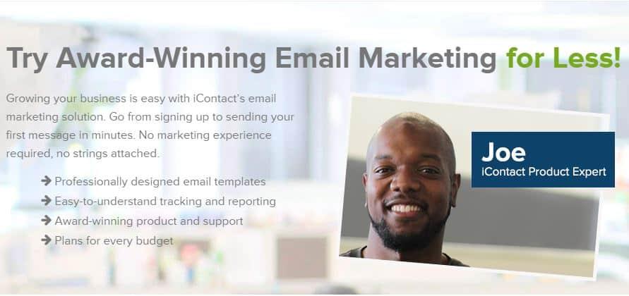 iContact Promo code