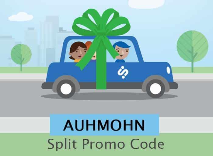 Split promo code