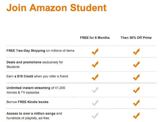Amazon Prime Referral