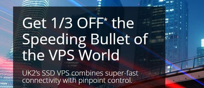UK2 VPS coupon code