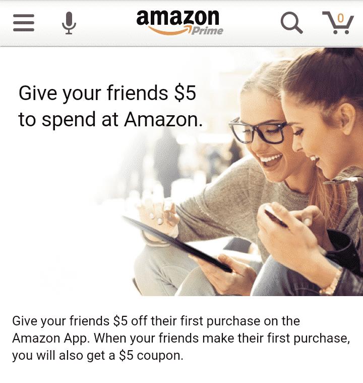 Free 5 Amazon GiftCard