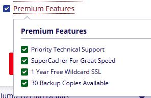 Siteground premium features