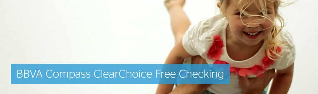 BBVA Compass Bank Free Checking Offer