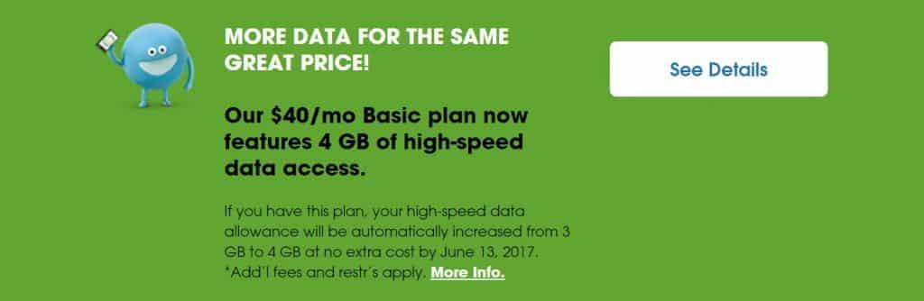 Cricket wireless basic plan 4GB