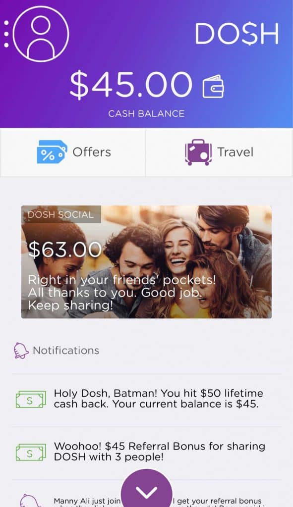 Dosh App Review & Referral Link: Get $15 For Free When You