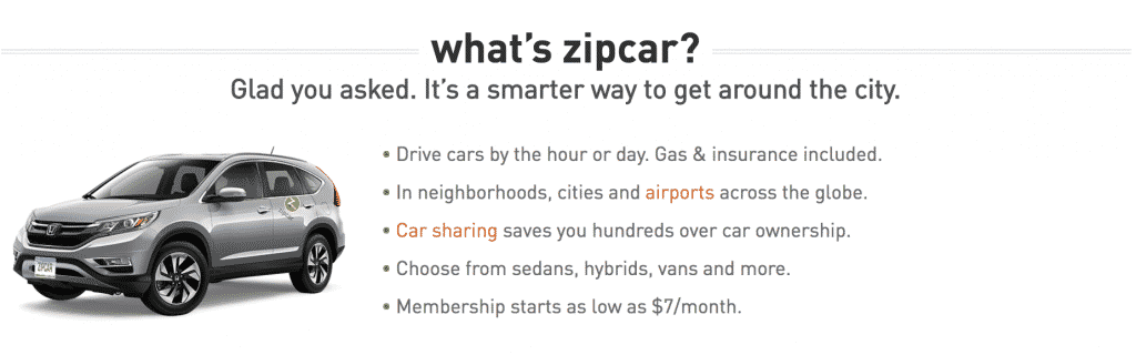 all about zipcar