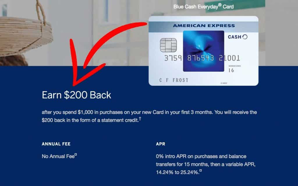 American Express credit card referral
