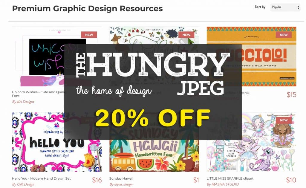 Hungry JPEG promo code
