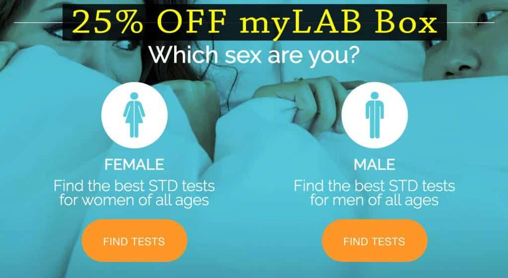 myLAB Box promo code
