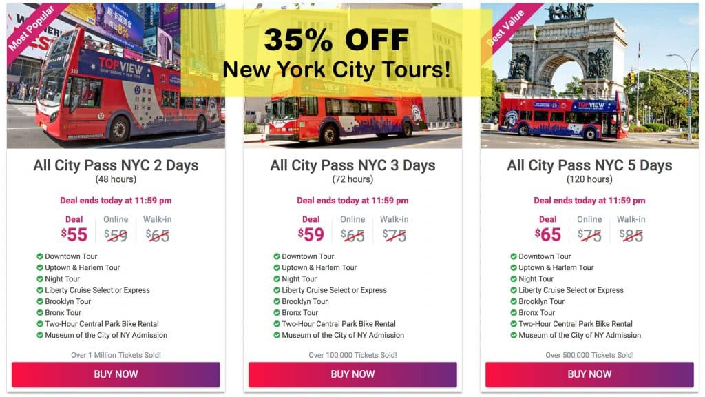Top view NYC promo code